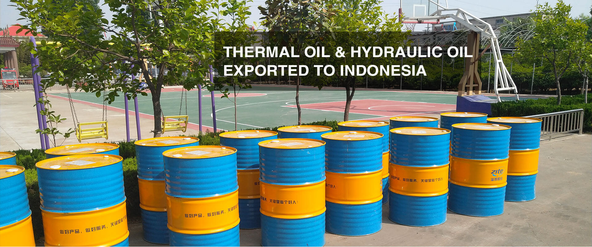 Thermal Oil & Hydraulic Oil Exported to Indonesia